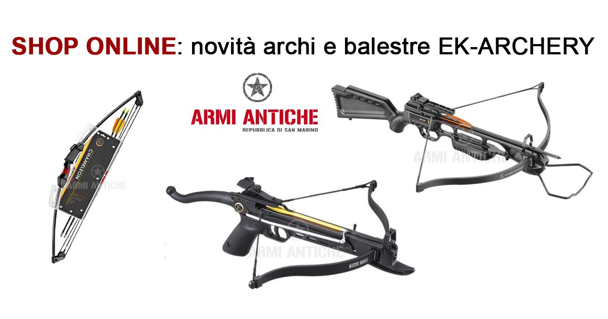 [Nuovi Arrivi] Balestre ed archi Ek-Archery