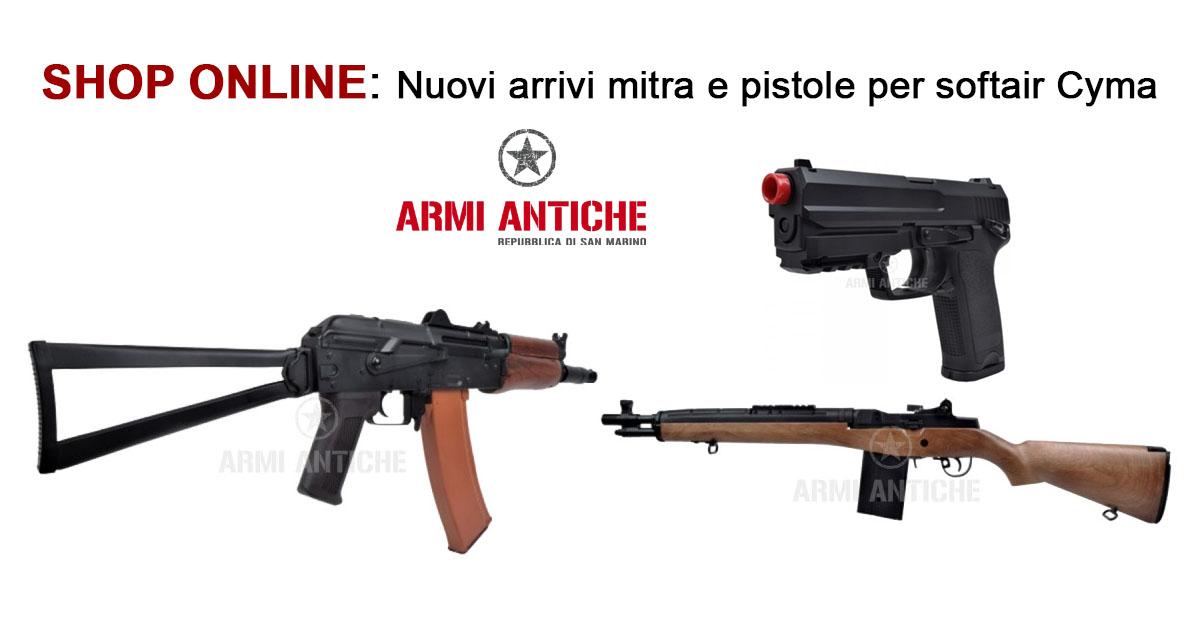 [Nuovi Arrivi] Mitra e pistole per softair Cyma