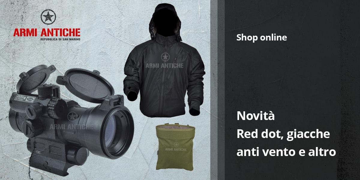 [Nuovi Arrivi] Red dot, giacche anti vento e tanto altro