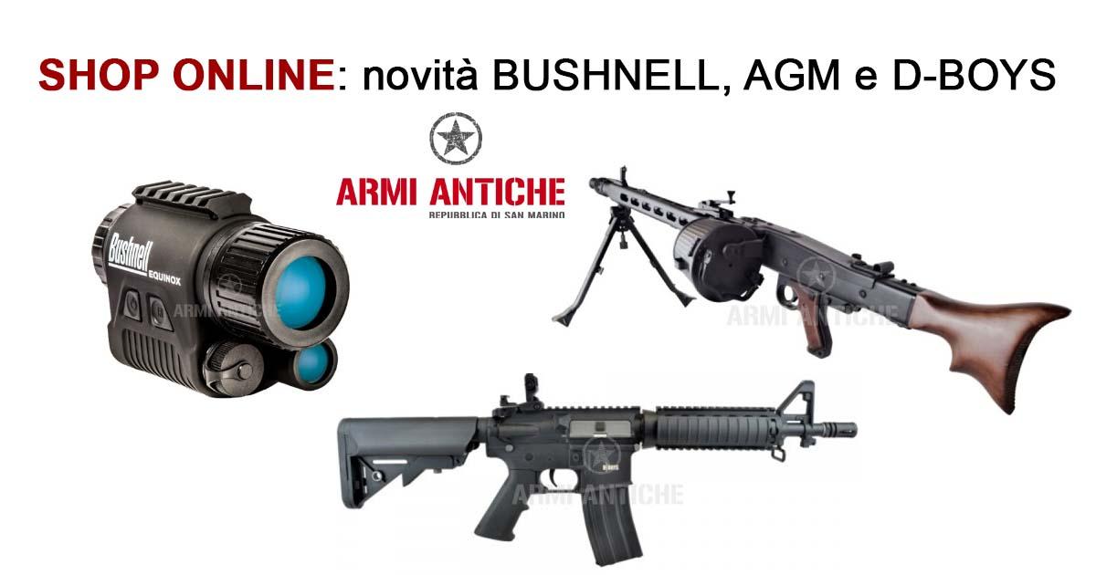 [Nuovi Arrivi] Bushnell, AGM, D-Boys e tanto altro