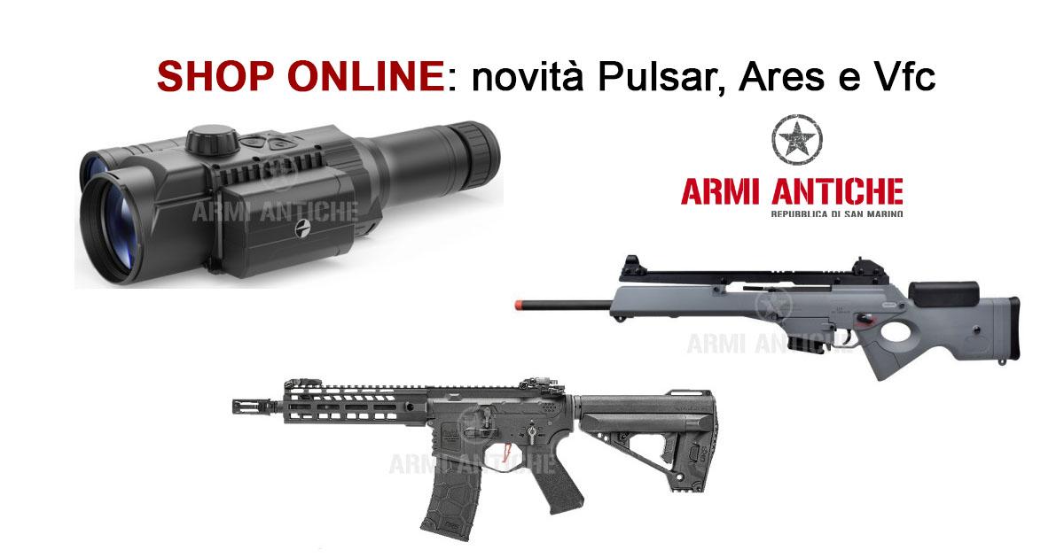 [Nuovi Arrivi] Fucili per softair Ares, Vfc e visori notturni Ares