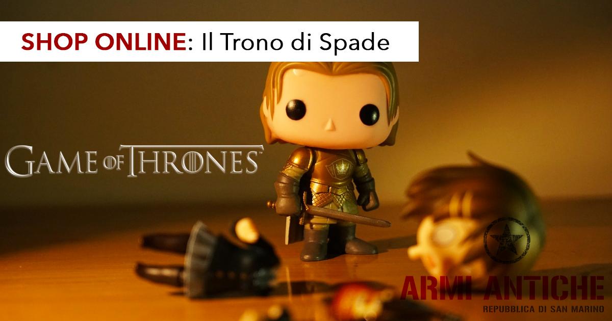 Il Trono di Spade: non perderti i gadget e le riproduzioni di Game of Thrones