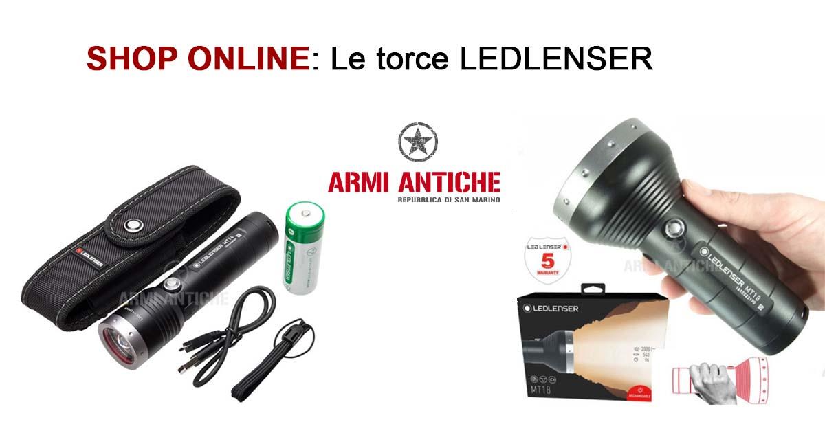 Shop on line: Torce Ledlenser