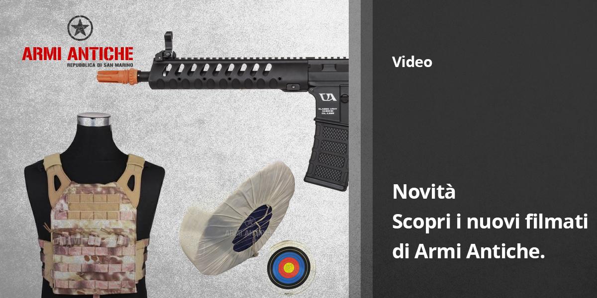 I nuovi video di Armi Antiche San Marino