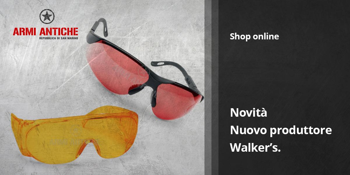 [Nuovi Arrivi] Occhiali balistici e accessori Walker's